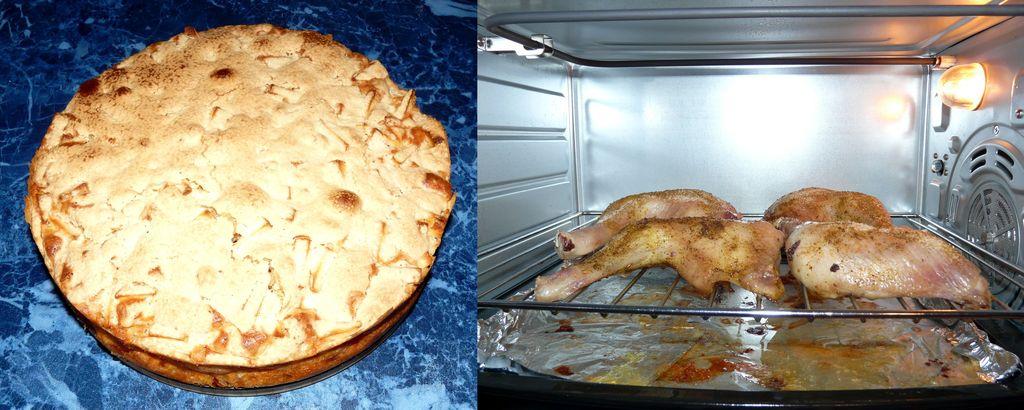 Как печет мини-печь