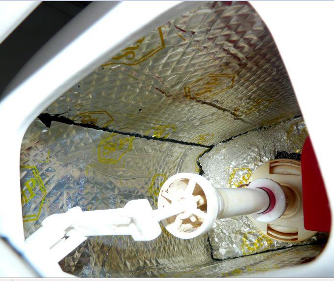 Как сделать шумоизоляцию туалета